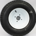 Ten Inch Four Lug Wheel & Tire