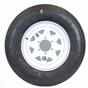 "Fifteen Inch 6-5.5"" Wheel & Tire"