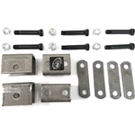 Single Axle Hanger Kit for Double Eye Springs
