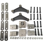 Tandem Axle Hanger Kit for Double Eye Springs (3.5K)